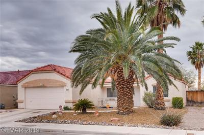 North Las Vegas Single Family Home For Sale: 2715 Coral Cliffs Court Court