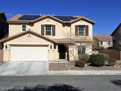Las Vegas Single Family Home For Sale: 5524 Ghost Rider Court