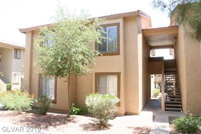 Las Vegas Condo/Townhouse For Sale: 7200 Pirates Cove Road #2085