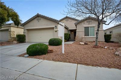 Las Vegas Single Family Home For Sale: 2638 Ivoryhill Street