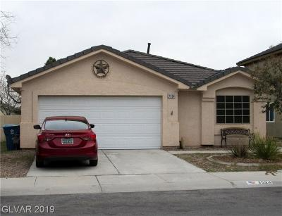 Las Vegas Single Family Home For Sale: 7524 Fencerow Street