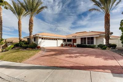 Boulder City Single Family Home For Sale: 631 Malaga Dr Drive