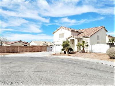 North Las Vegas Single Family Home For Sale: 3132 Sudden Valley Court