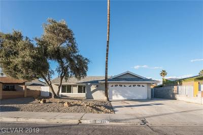 Las Vegas NV Single Family Home Under Contract - No Show: $242,000