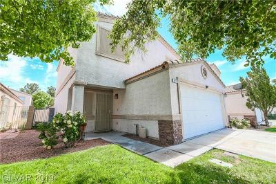 North Las Vegas Single Family Home For Sale: 3252 Bridge House Street