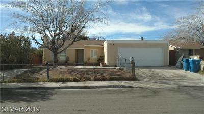 Las Vegas Single Family Home For Sale: 145 Hancock Street