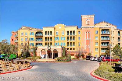 Viera Condo Amd, V At Lake Las Vegas, Mantova-Phase 1, Mantova-Phase 2, South Shore Villas Amd, Luna Di Lusso Condo 2nd Amd, Luna Di Lusso Condo 3rd Amd, Parcel 6n-4-A Vita Bella High Rise For Sale: 30 Strada Di Villaggio #342