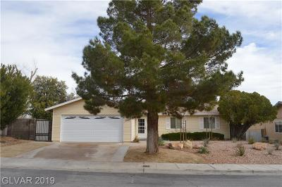 Boulder City Single Family Home Under Contract - Show: 1319 Gloria Lane Lane