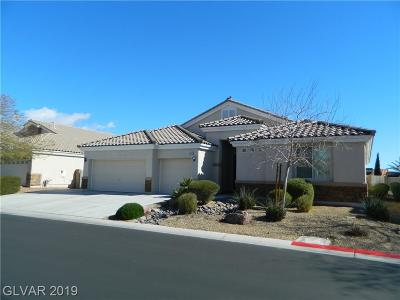 Clark County Single Family Home Sold: 5112 Mirage Garden Street