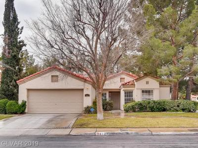 North Las Vegas Single Family Home For Sale: 4121 Palamos Drive
