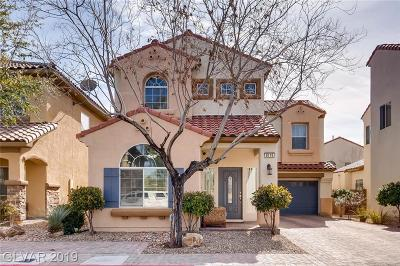 Las Vegas Single Family Home For Sale: 8119 Cheerful Valley Avenue