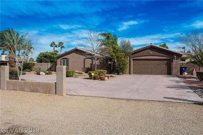 Las Vegas Single Family Home For Sale: 5321 Manuel Drive