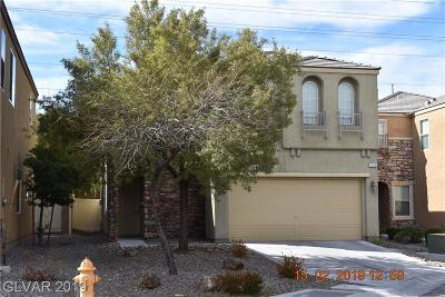 Las Vegas Single Family Home For Sale: 2255 Autumn Fire Court