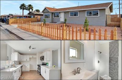 North Las Vegas Single Family Home For Sale: 1815 Bluff Avenue