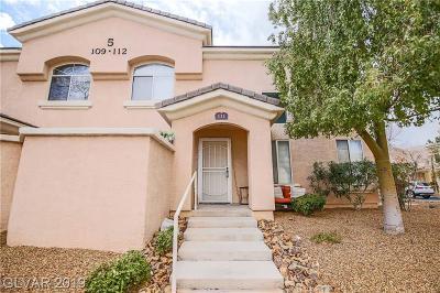 Las Vegas NV Condo/Townhouse For Sale: $209,888