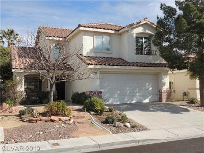Henderson Single Family Home For Sale: 2527 Via Di Autostrada