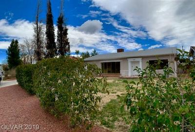 Las Vegas Single Family Home For Sale: 1107 6th Street
