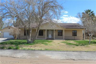 Logandale NV Single Family Home For Sale: $419,000