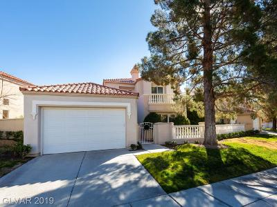 Las Vegas Single Family Home For Sale: 8243 Horseshoe Bend Lane