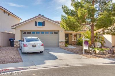 Henderson Single Family Home For Sale: 31 Via De Luccia