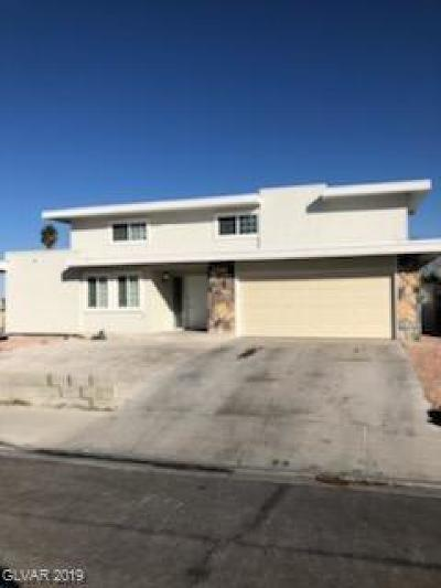 Las Vegas Single Family Home For Sale: 901 Biljac Street