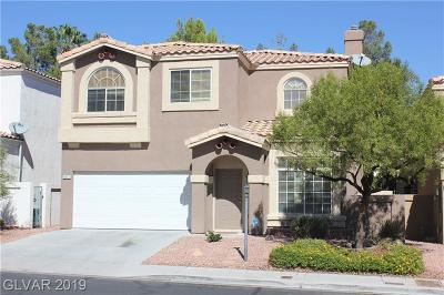 Las Vegas Single Family Home For Sale: 8970 Indian Eagle Drive