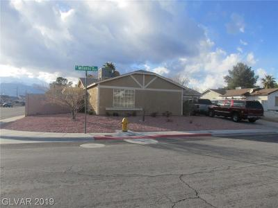 Las Vegas Single Family Home For Sale: 4000 Miramia Drive