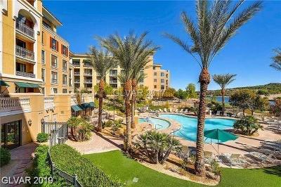 Viera Condo Amd, V At Lake Las Vegas, Mantova-Phase 1, Mantova-Phase 2, South Shore Villas Amd, Luna Di Lusso Condo 2nd Amd, Luna Di Lusso Condo 3rd Amd, Parcel 6n-4-A Vita Bella High Rise For Sale: 29 Montelago Boulevard #207