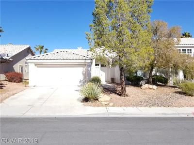 Las Vegas Single Family Home For Sale: 9316 Evergreen Canyon Drive