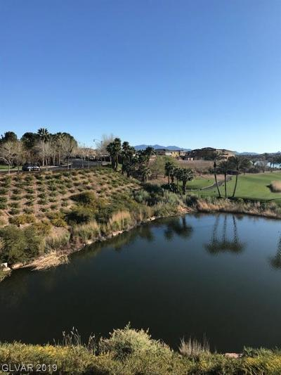 Viera Condo Amd, V At Lake Las Vegas, Mantova-Phase 1, Mantova-Phase 2, South Shore Villas Amd, Luna Di Lusso Condo 2nd Amd, Luna Di Lusso Condo 3rd Amd, Parcel 6n-4-A Vita Bella High Rise For Sale: 29 Montelago Boulevard #232