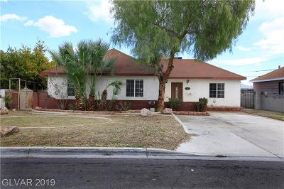 Las Vegas Single Family Home For Sale: 1501 11th Street