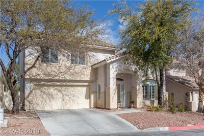 Las Vegas  Single Family Home For Sale: 8528 Sierra Cima Lane