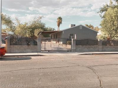 Las Vegas Single Family Home For Sale: 3804 Connie Avenue