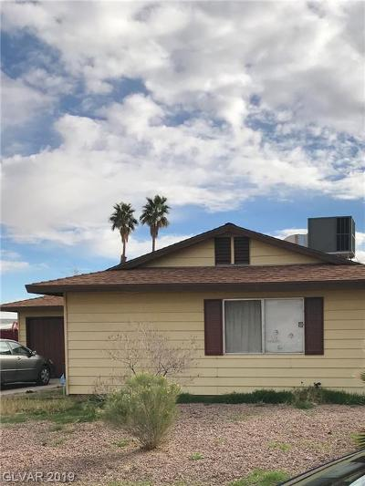 Las Vegas Single Family Home For Sale: 5030 Haystack Drive