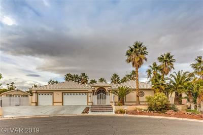 Las Vegas NV Single Family Home For Sale: $775,000