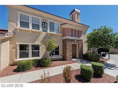 Las Vegas Condo/Townhouse For Sale: 10809 Garden Mist Drive #1007