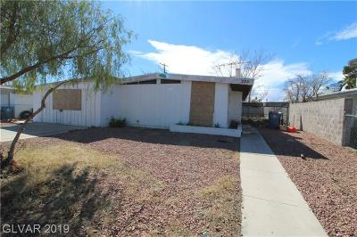 Las Vegas Single Family Home Under Contract - No Show: 225 Upland Boulevard