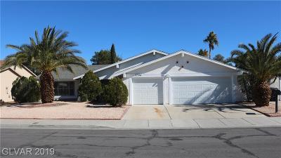 Las Vegas  Single Family Home For Sale: 3204 Cereus Avenue