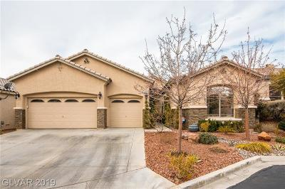 Las Vegas Single Family Home For Sale: 3277 Hedingham Court