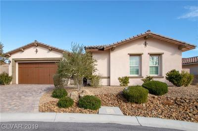 Las Vegas Single Family Home For Sale: 724 Puerto Real Court
