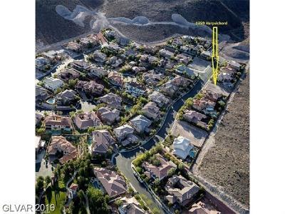 Las Vegas, Boulder City, Henderson Residential Lots & Land For Sale: 1759 Harpsichord Way