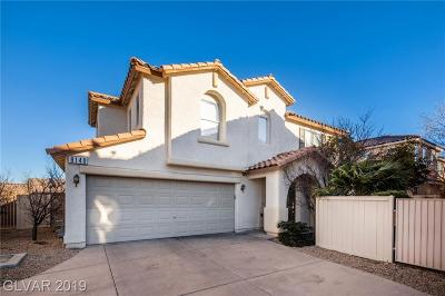 Las Vegas Single Family Home For Sale: 8140 Finch Feather Street