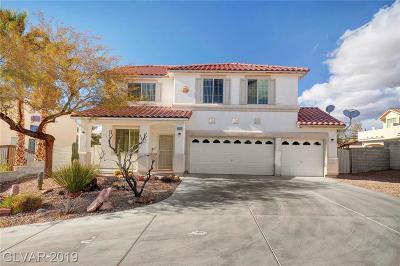 Las Vegas Single Family Home For Sale: 6636 Alma White Street