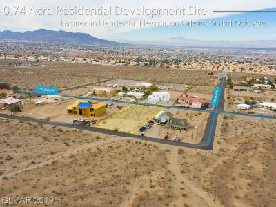 Henderson Residential Lots & Land Under Contract - No Show: Oslo Ave And Orleans St