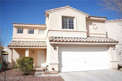 Las Vegas Single Family Home For Sale: 7833 Sungrove Court