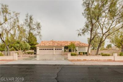 Las Vegas Single Family Home For Sale: 8020 Maverick Street