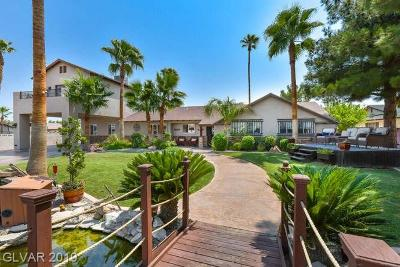 Las Vegas Single Family Home For Sale: 6145 Duncan Drive