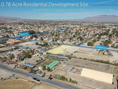 Las Vegas Residential Lots & Land For Sale: Washburn Rd