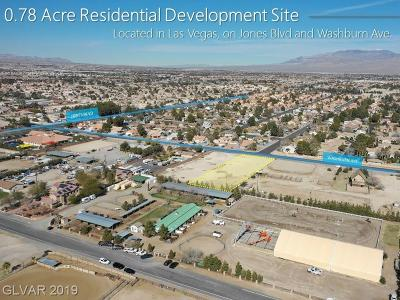 Las Vegas Residential Lots & Land For Sale: Washburn Rd.
