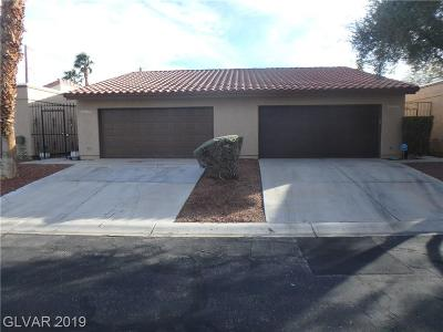 Las Vegas NV Condo/Townhouse Under Contract - No Show: $165,000